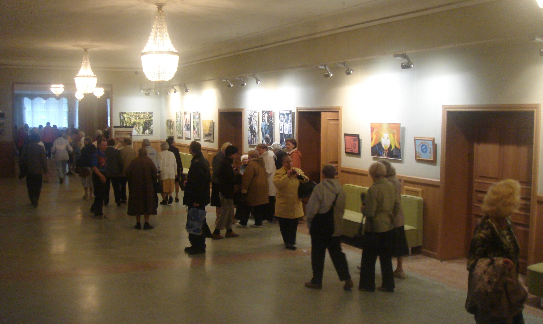 НА выставке А. Ольшанского